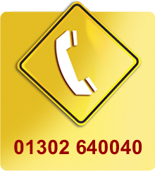 Telephone number - 01302640040